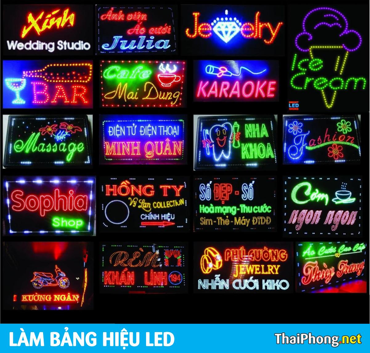 Bảng hiệu LED