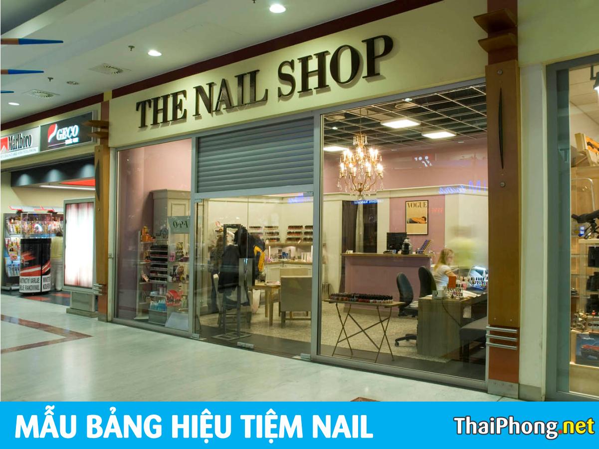 The Nail Shop ở Mỹ