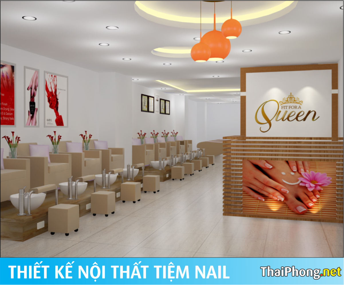 Tiệm nails đẹp Queen