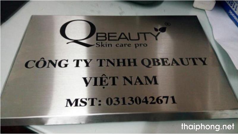 Bang ten cong ty mẫu 7